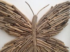Handmade driftwood Butterfly. by DriftwoodDesigns1 on Etsy