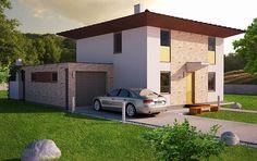 Návrh rodinného domu KRÁSA DOM od APEX ARCH s.r.o. Garage Doors, Shed, Outdoor Structures, Outdoor Decor, Home Decor, Decoration Home, Room Decor, Home Interior Design, Carriage Doors
