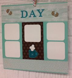 #scrapbooking,  #stampinup, #kimberlygora.stampinup.net, Pages made for our yearly baking day