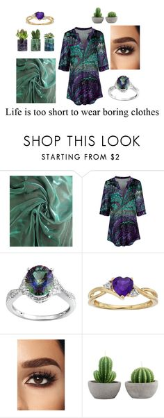 """dark green and purple"" by joeyrea4 ❤ liked on Polyvore featuring Simply Aster"