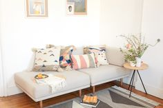 MINNA is a home textile brand with a focus on all things woven. Founded in 2013 by Sara Berks in Brooklyn, NY.