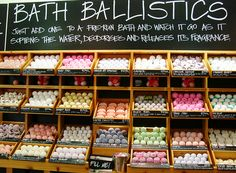 LUSH bath bombs just need some :)