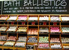 LUSH bath bombs just need some :)
