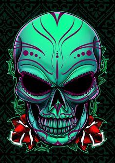 Sugar Skull 2012 Art Print