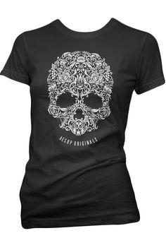 Aesop Originals Women's A Skull Named Sugar T-Shirt - Pink