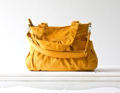 Elessa in Yellow corduroy by milloo on Etsy, $75.00