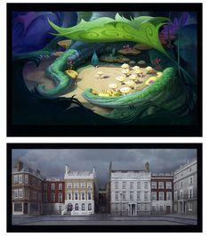 Artes de Natalie Franscioni-Karp para a Disney e a DreamWorks | THECAB - The Concept Art Blog