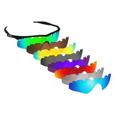 e82bbede30 Hawkry Polarized Replacement Lenses for-Oakley M Frame Hybrid Vented -  Multiple  fashion