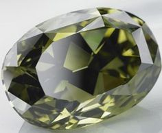 The Chopard Chameleon Diamond is the largest chamelon diamond in the world at 31 cts.   See nearby pin for yellow form.