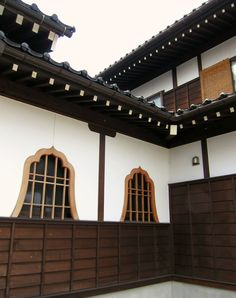 Japanese temple exterior