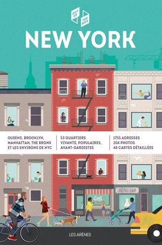 Editions des Arènes - Guide - New York - Out of the Box Lonely Planet, Empire State Building, Guide New York, Nex York, Brooklyn, Times Square, Voyage New York, Nyc, Manhattan