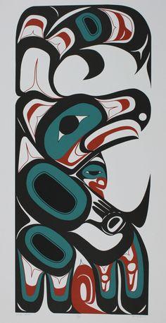 Eagle Dancer & Raven Dancer (Set of 2 serigraphs with matching numbers) - Henry Reece