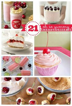 21 VERY yummy cherry recipes! Your mouth will thank you!