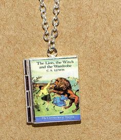 The Lion the Witch and the Wardrobe Locket Necklace