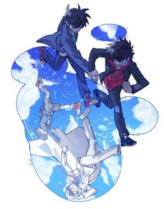Anime City, Dc Anime, Kawaii Anime, Manga Anime, Magic Kaito, Conan Comics, Detektif Conan, Kaito Kuroba, Lupin The Third