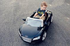 mini audi car for children. powerwheels