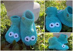 pantuflas tejidas en crochet para hombre - Buscar con Google