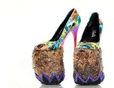 zapatos raros y extravagantes