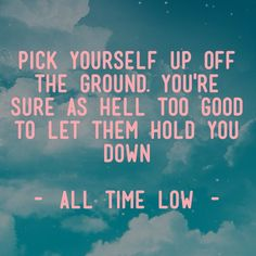 So Long, And Thanks for All the Booze ♥ -All Time Low