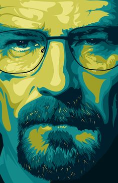 Breaking Bad Fan Art / Walter White / Jessie Pinkman by Ciaran Monaghan, via Behance