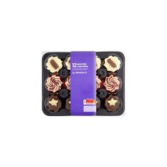 Sainsbury's Cupcake Platter (130 EGP) ❤ liked on Polyvore featuring home, kitchen & dining, serveware and cupcake platter
