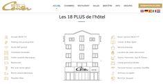 Création du nouveau site internet de l'hôtel Center #Brest http://www.air-media29.com/internet-brest/creation-web.html