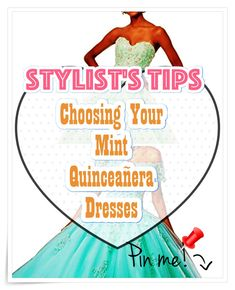 Mint Quinceanera dress - Essentially the most vital preparation steps for the Quinceanera party, if not the most vital one, is the variety of the Quinceanera dress. Mint Quinceanera Dresses, Quinceanera Party, Quince Dresses, Fashion And Beauty Tips, Different Patterns, Dress For You, Cute Dresses, Stylists, Gowns
