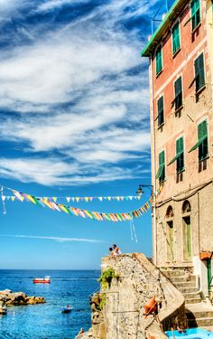 Cinque Terre, Italy | Come seek the enamoring coastlines of this Italian oasis, a popular sector full of hidden gems just waiting to be explored to the fullest.
