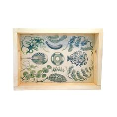 Antique-looking and classically designed, this Green Sea Life Wood Tray is a creative way to carry breakfast in bed to your loved one, or to serve cocktails at your intimate dinner party. Its wooden fr...  Find the Sea Plant Wooden Tray, as seen in the Bohemian Beach Bungalow Collection at http://dotandbo.com/collections/bohemian-beach-bungalow?utm_source=pinterest&utm_medium=organic&db_sku=SFG0013