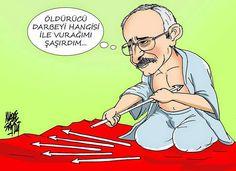 Siyasi Karikatürler: Kemal Kılıçdaroğlu
