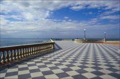 Alla scoperta dell'affascinante città di #Livorno ... Terrazza Mascagni