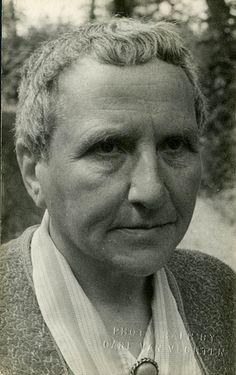 Gertrude Stein by Carl Van Vechten 1934
