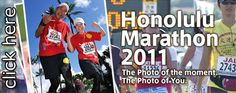Honolulu Marathon (not 2011, but 1998!!) -- ran my first marathon with my BFF, Mary!
