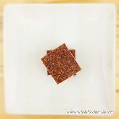 Choc Ginger Squares.  Quick, simple and delicious!  Free from gluten, grains, dairy, eggs and refined sugar.  Enjoy!
