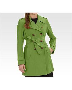 Green london fog jacket