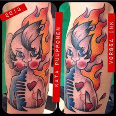 https://www.facebook.com/VorssaInk, http://tattoosbykata.blogspot.fi, #tattoo #tatuointi #katapuupponen #vorssaink #forssa #finland #traditionaltattoo referentce from:http://gradualdazzle.blogspot.fi/2007_09_01_archive.html