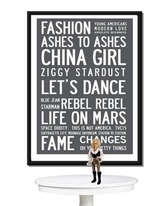 Best of David Bowie Poster Print