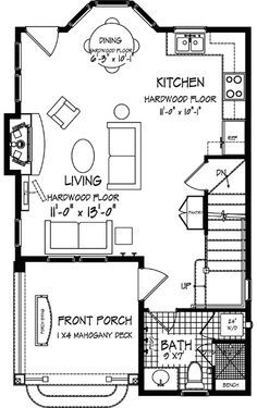 Perfect small house. Master suite upstairs, guest bedroom in basement.