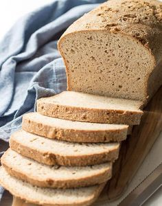 The Best Low Carb Bread Recipe with psyllium and flax! This low carb and keto bread recipe makes a regular sized loaf and tastes like sourdough bread.-USES BAKING POWDER - Possible yeast sub? Best Low Carb Bread, Lowest Carb Bread Recipe, Best Low Carb Recipes, Low Carb Keto, Keto Recipes, Keto Cookies, Vegan Bread Machine Recipe, Paleo Bread, Bread Diet