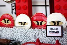 Ninjago Cookies  Ninjago Legos/ Ninja Chinese Party |