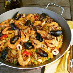 Seafood Paella  http://electricmaninc.com/