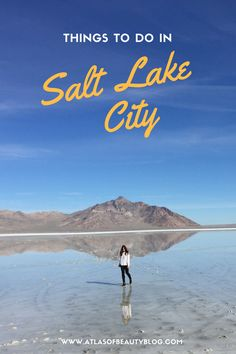 I always heard great things about Salt Lake, therefore when Hurricane Matthew decided to visit Florida, I went West. I found some awesome things to do in Salt Lake City that I am so excited to share. Salt City, Salt Lake City Utah, Salt Lake City Hikes, Utah Vacation, Vacation Ideas, Dream Vacations, Vacation Spots, Slc Utah, Utah Adventures