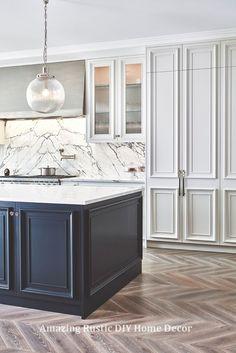 Amazing Rustic Kitchen Island DIY Ideas  #homedecor #rustichome