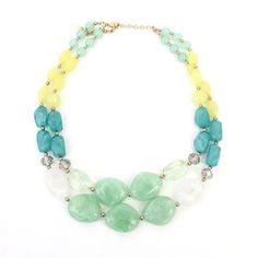 Pebble Bead Necklace