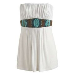 Beaded Waist Tube - Teen Clothing by Wet Seal | ThisNext