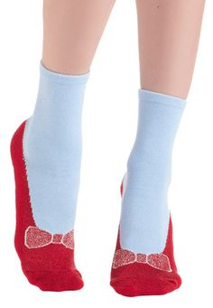 Wizard of Oz Inspired Day Slipper Socks http://rstyle.me/n/tubkabh9c7