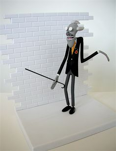 seg pink floyd the wall figure: schoolmaster (2004) by j_pidgeon, via Flickr