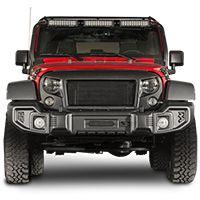 Rugged Ridge Spartacus Front Bumper for 07-17 Jeep Wrangler JK & JK Unlimited
