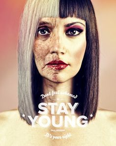 Stay Young by Paul And Newman , via Behance