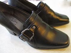 """Womans Life Stride Soft System Black Casual Work 6.5 slip on 2.5"""" heel #LifeStride #Slides"""